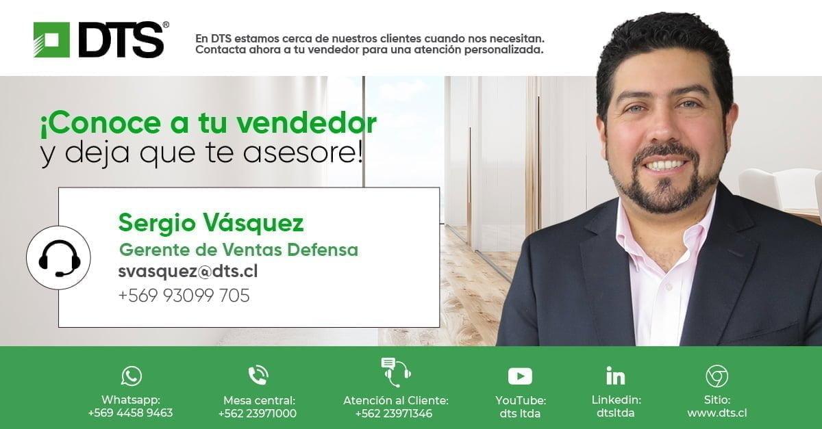 Sergio Vásquez DTS